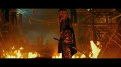 """Rurouni Kenshin 2 movie trailer. Theme song """"Mighty Long Fall"""" by ONE OK ROCK. Seriously can't wait for this movie!"""