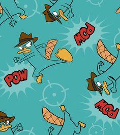 Disney Pf Agent P Ultra Cuddle Fleece Fabric, , hi-res Disney Wallpaper, Cartoon Wallpaper, Phineas Et Ferb, Perry The Platypus, Cute Disney Pictures, Nickelodeon Cartoons, Character Wallpaper, Apple Wallpaper, Disney And More