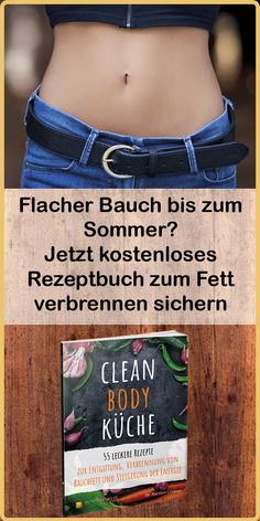 Flat belly until summer - Clean Body Küche - Fitness Workouts, Fun Workouts, Fitness Motivation, Weight Loss Drinks, Weight Loss Tips, Lose Weight, Upper Body Workout For Women, Beauty Tips Easy, Transformation Body