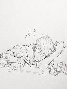 Me big mood guy sleep drawing sketch pencil Sketches, Art Reference Poses, Drawings, Manga Drawing, Sleeping Drawing, Illustration Art, Drawing Sketches, Art, Art Reference