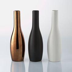 Image Pack of 3 Decorative Ceramic Bottles La Redoute Interieurs