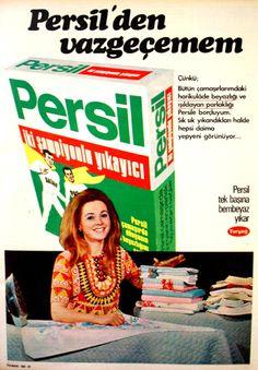Persil çamaşır deterjanı 1972.