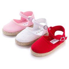 Alpargatas para Niñas con Hebilla - Calzado Infantil Online Pisamonas