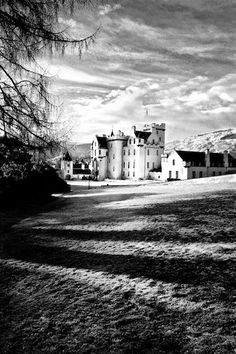 Blair Castle from Diana's Grove - It's my ancestor's castle!