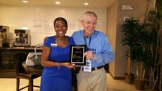 Mack was so honored to have received this plaque presented by Myeshi Briley with the Spring Klein Chamber of Commerce! | Houston TX | Gallery Furniture |