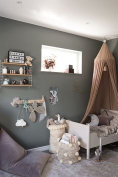 Interior By Susan Baby Bedroom, Baby Room Decor, Girls Bedroom, Bedroom Decor, Modern Kids Bedroom, Teen Bedroom Designs, Toddler Rooms, Toddler Bed, Yurts