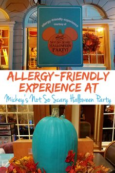 Have an Allergy-Friendly Experience at Mickey's Not So Scary Halloween Party