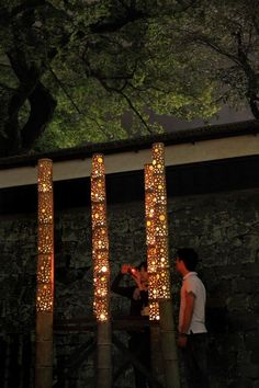 Bamboo light festival