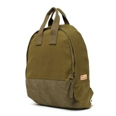 Buddy Ear Tote Backpack Olive | buddy make happy made in Japan