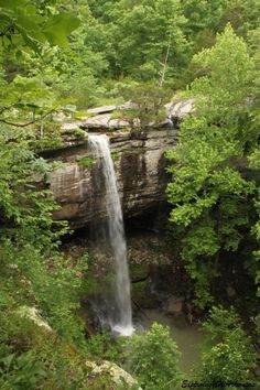 Sweden Creek Falls - via ExploringNWArkansas