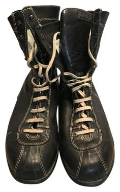 c205d814c9fd Camper Men's Lace Up Boxer Style Black Boots. Get the must-have boots of