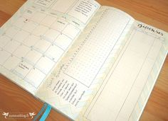 Monthly Log Bullet Journal Septembre #2