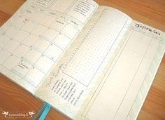 Monthly Log Bullet Journal Septembre #2