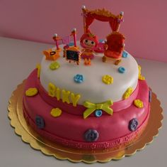 Η τούρτα για τα γενέθλια της Βίκυς μου.