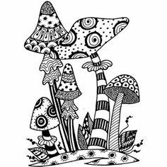 Lindsay Mason Designs - Toadstools Ready To Go