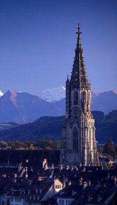 Berner Münster/Bern Minster, Bern, Switzerland