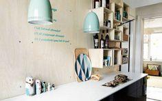 Kreativt hjem...Bolig: Med humor og farver - Alt for damerne