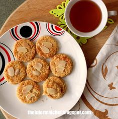 The Informal Chef: Almond Nestum Cookies/Nestum杏仁曲奇饼