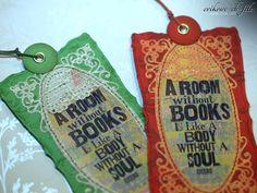bookmark, zakładki do książki, Evik, spellbinders