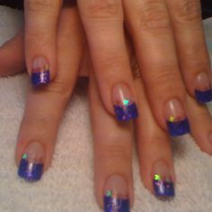 Patriotic nails.