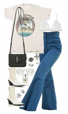 date outfit fall casual 70s Outfits, Vintage Outfits, Hippie Outfits, Mode Outfits, Trendy Outfits, Summer Outfits, Fashion Outfits, Concert Outfits, Look Fashion