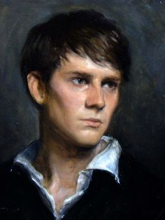 Matthew James Collins (oil) nice portrait