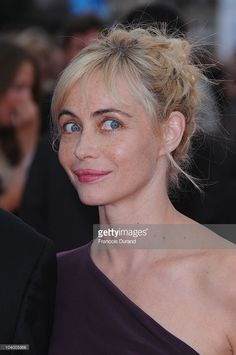 Photo d'actualité : Actress and president of the jury, Emmanuelle...
