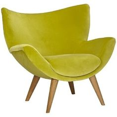 Green 1970s chair