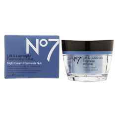 Boots No7 Lift  Luminate Night Cream 16 fl oz 50 ml >>> Click on the image for additional details.