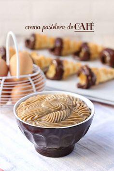Receta de Crema pastelera de café