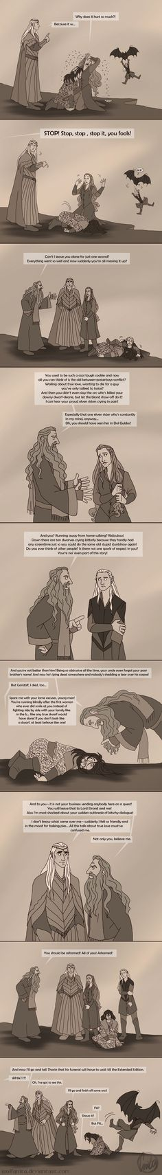 This perfectly sums up my feelings about Battle of the Five Armies. The Hobbit: Gandalf to the Rescue! by wolfanita on DeviantArt<<< Legolas though Legolas, Thranduil, Gandalf, Der Hobbit Film, O Hobbit, Hobbit Funny, Jackson, J. R. R. Tolkien, Into The West