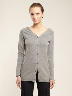 Wool Double Button Cardigan by Boss Black on Gilt.com