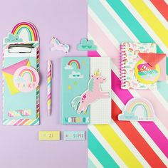 New Uniquely Unicorn #KidsStationery is now sold online at Target. Shop it! #crafts #diy #paper #kids Best Friend Gifts, Gifts For Friends, Cute School Supplies, Office Supplies, Kids Stationery, Study Room Decor, Diy Crafts For Kids, Girl Gifts, Cute Gifts