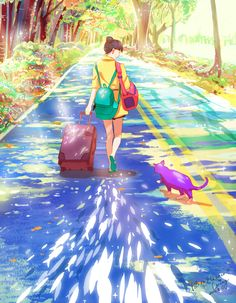 ✎ Artist's name: Caring Wong ✎ Artwork title: Dream of Road Back ✎ Medium: Digital Art ✎ Size: 764x983 ✎ Year: 2015