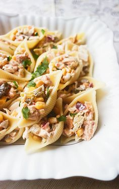 What To Cook, Pasta Salad, Food And Drink, Impreza, Baking, Ethnic Recipes, Diet, Thermomix, Crab Pasta Salad