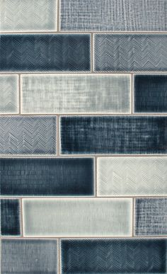 Lighten up the kitchen as a backsplash? TILES - Pratt and Larson texture field C, H, K tile in