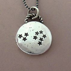 Custom Constellation Necklace in Sterling Silver by esdesigns, $52.00