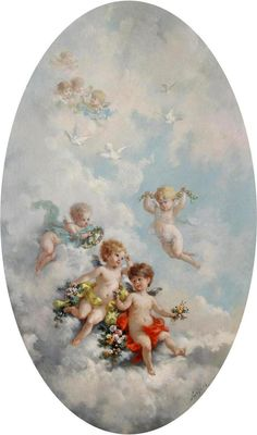 черно белые картинки барокко ангелы - Поиск в Google