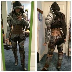 More great-looking armor :D I like the asymmetrical shoulder-guard <3