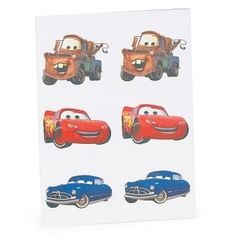Disneys Cars tattoos CARS and Thomas Little Boys, My Boys, Car Tattoos, Disney Cars, Boy Room, Car Pictures, Picture Tattoos, Birthday Parties, Baby Boy