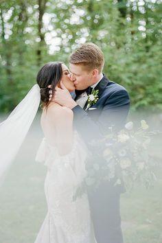 Wedding Photos   Wedding Photography   Bride   Groom   Bridal Portrait   Wedding Gown   Dress   Veil   For more wedding ideas, visit burghbrides.com!