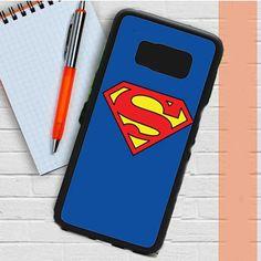 Superman Logo Plain Samsung Galaxy S8 Plus Case Casefreed