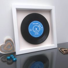 Are you interested in our framed vinyl record box? With our personalised framed song you need look no further.