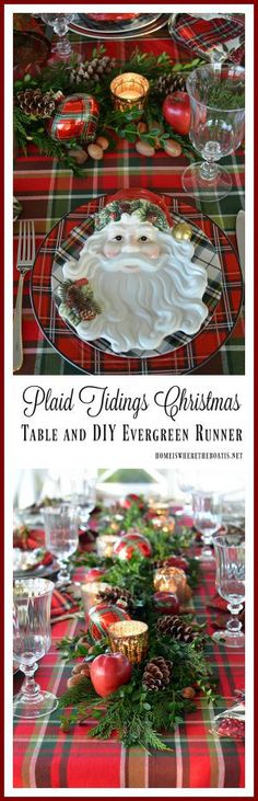 'Tis the Season to deck the halls, as well asthe table, soI'm bringing plaid tidings to join a group of talented bloggers for a Holiday Tablescape Blog Hop! Look for the links at the …
