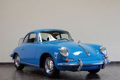 1964 Sky Blue Porsche 356 SC