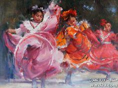 الطفولة و الحياة جنوب غرب امريكا فى لوحات Michael Maczuga