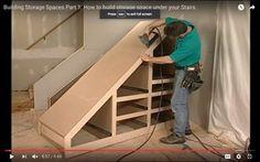Hallway storage shelves under stairs 61 best Ideas Shelves Under Stairs, Stairway Storage, Closet Under Stairs, Space Under Stairs, Under Stairs Cupboard, Hallway Storage, Basement Stairs, Cupboard Storage, Closet Storage