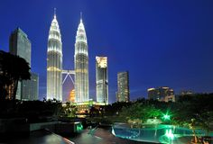 Blue Hour at Petronas Twin Tower by Nora Carol Sahinun on 500px
