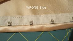 A Few Threads Loose: Ohh La La Pin Up Sew Along... Your Hook and Eye Closure
