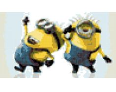 Despicable Me Minions Cross Stitch Pattern  Printable by vitbich